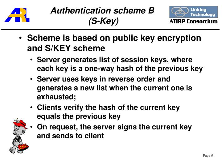 Authentication scheme B