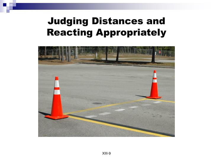 Judging Distances and