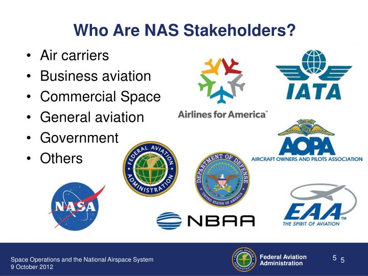 Who Are NAS Stakeholders?