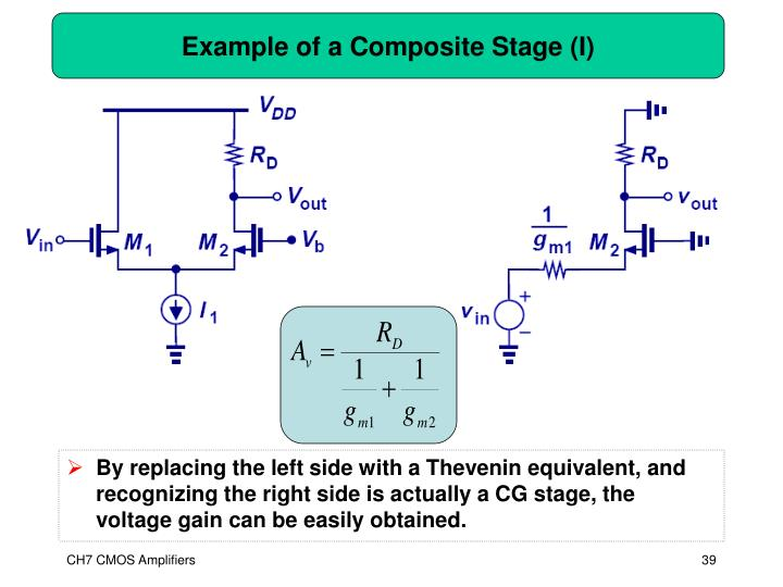 Example of a Composite Stage (I)