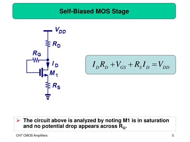 Self-Biased MOS Stage