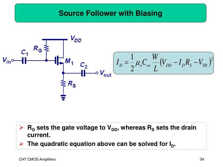 Source Follower with Biasing