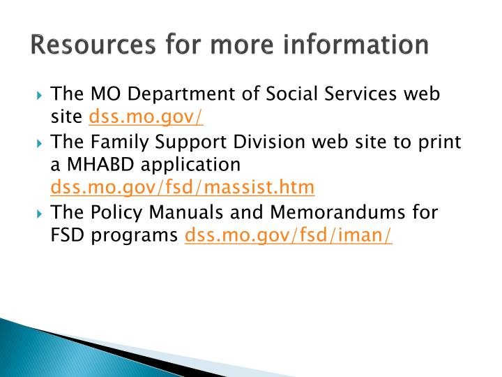 Ppt Medicaid In Missouri Mo Healthnet For The Aged