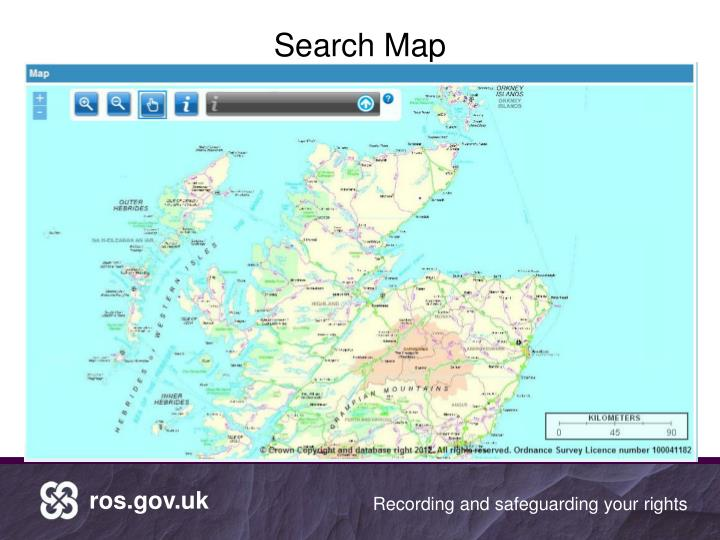 Search Map