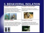 3 behavioral isolation1