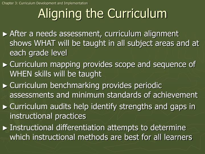 Chapter 3: Curriculum Development and Implementation