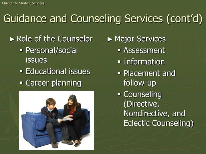 Role of the Counselor