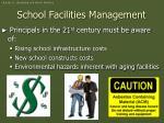 school facilities management