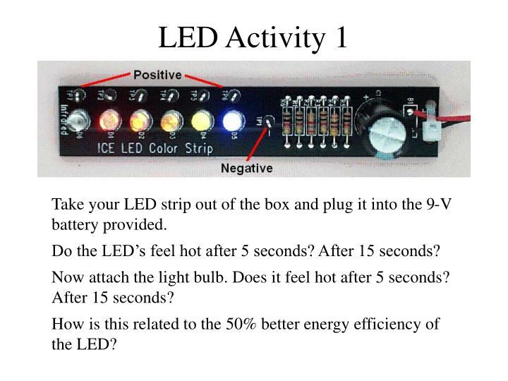 LED Activity 1