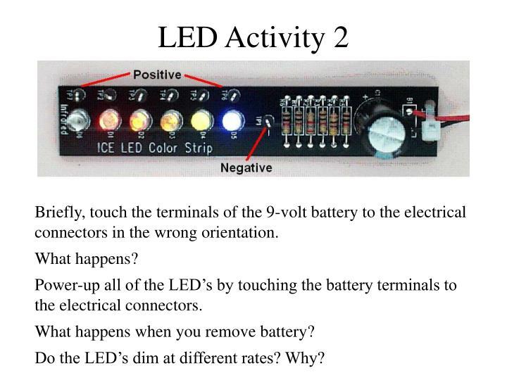 LED Activity 2