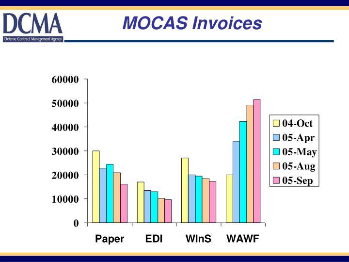 MOCAS Invoices