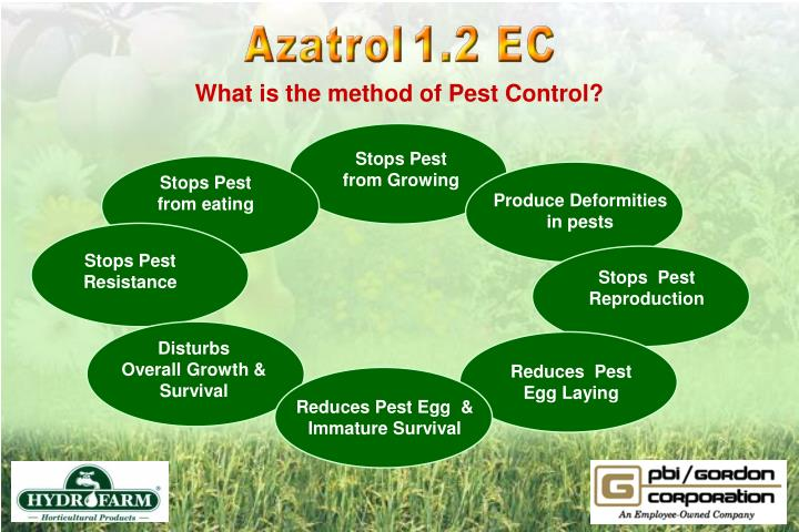 What is the method of Pest Control?