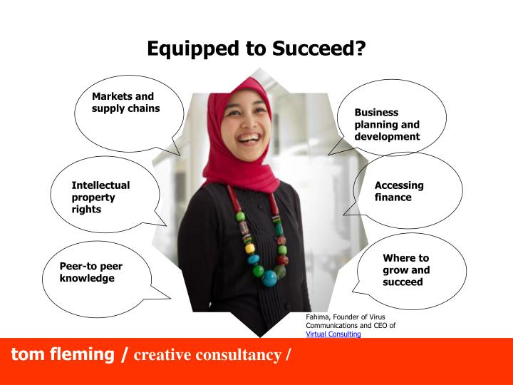Equipped to Succeed?
