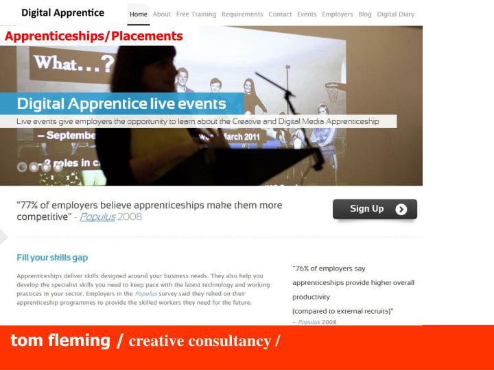 Apprenticeships/Placements