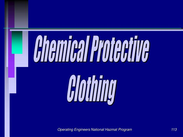 Chemical Protective