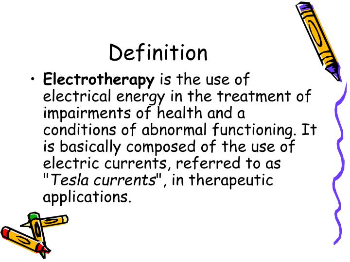 ppt - electrotherapy powerpoint presentation