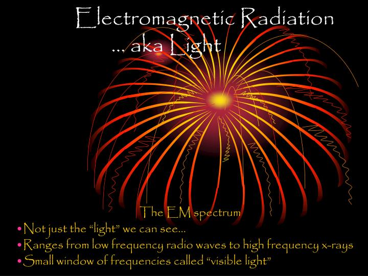 Electromagnetic radiation aka light