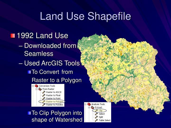 Land Use Shapefile