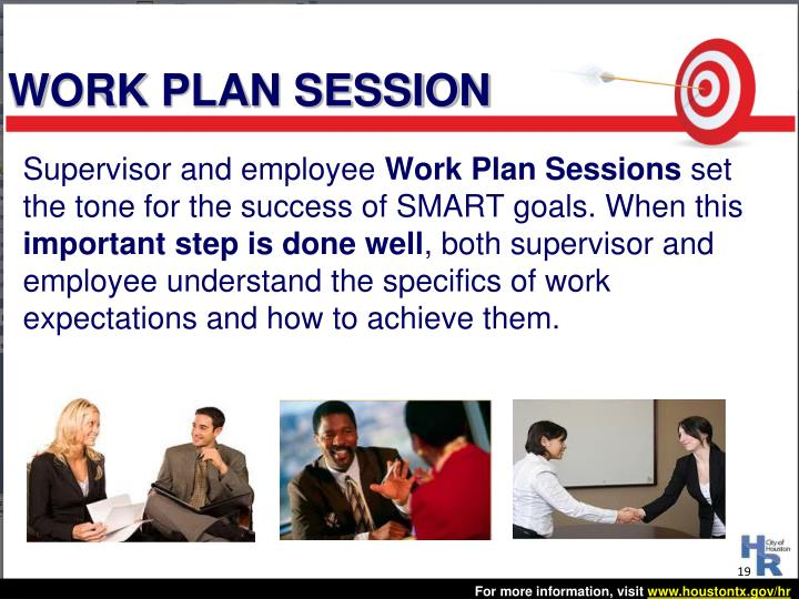 WORK PLAN SESSION
