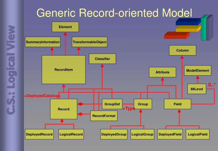 Generic Record-oriented Model
