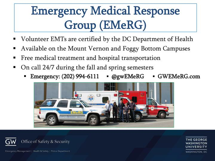 Emergency Medical Response