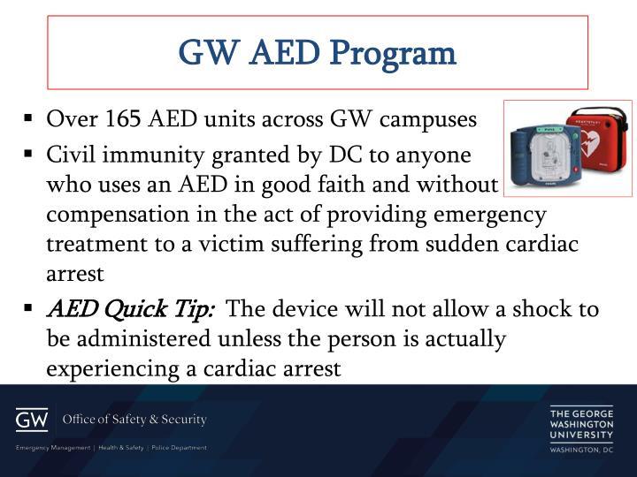 GW AED Program