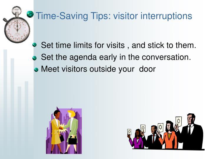 Time-Saving Tips: