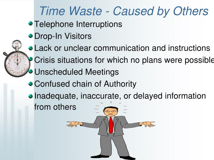 Time Waste - Caused by Others