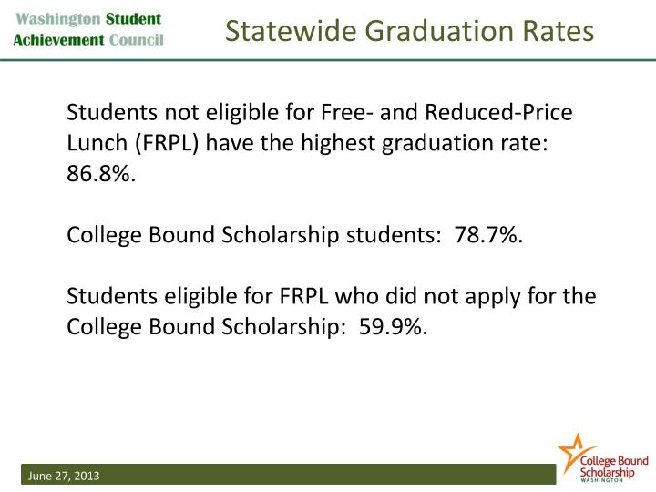 Statewide Graduation Rates