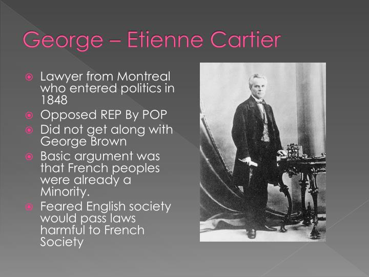 George – Etienne Cartier