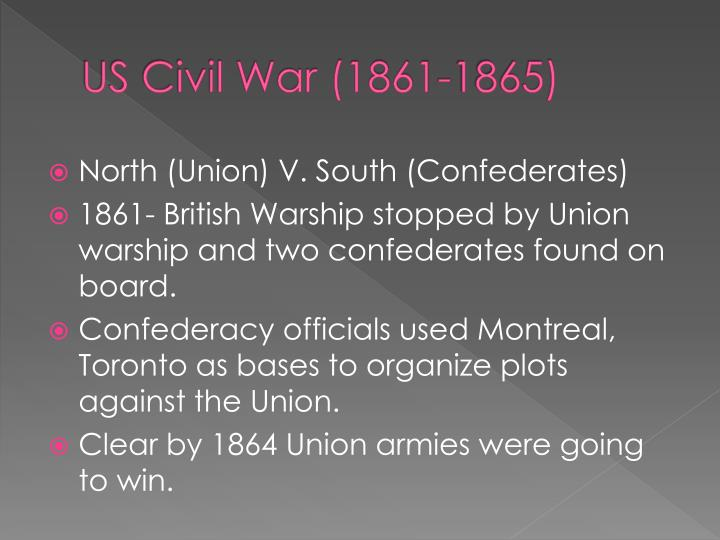 US Civil War (1861-1865)