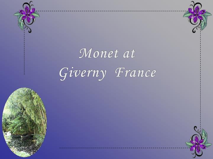 Monet at