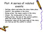plot a series of related events