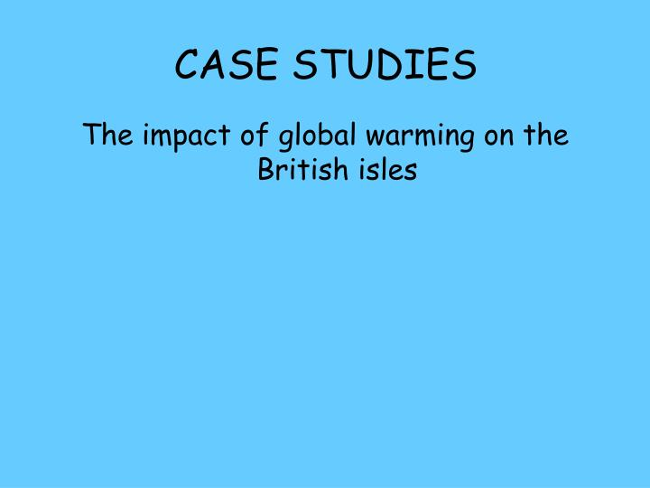 case studies related to global warming