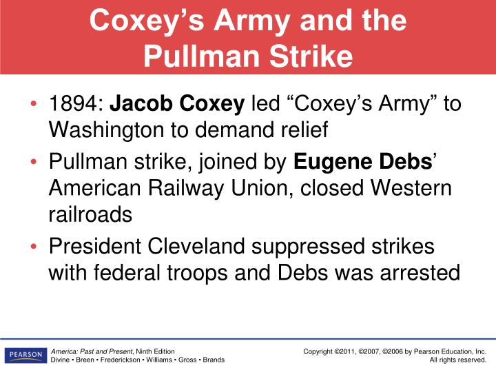 Coxey's Army and the