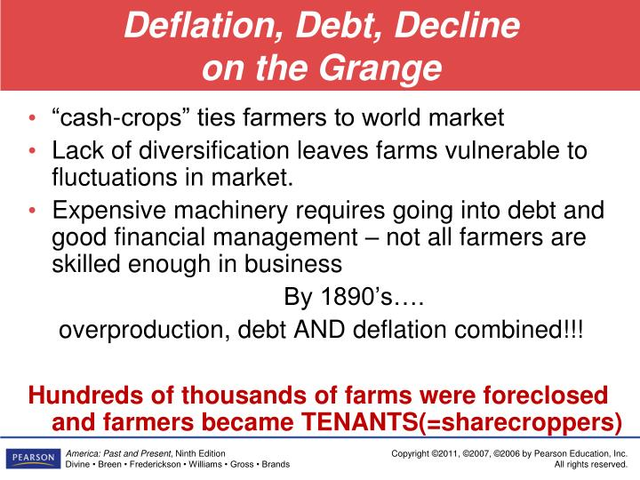 Deflation, Debt, Decline
