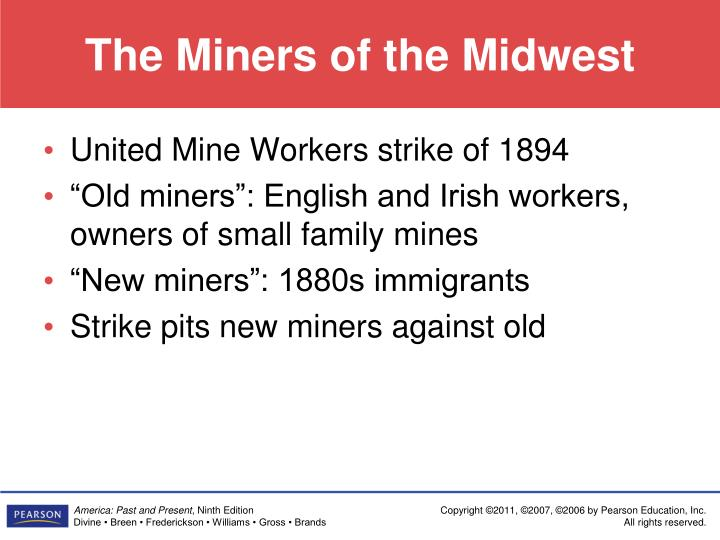 The Miners of the Midwest