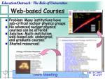 web based courses