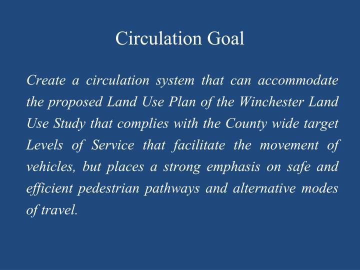 Circulation Goal