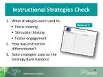 instructional strategies check1