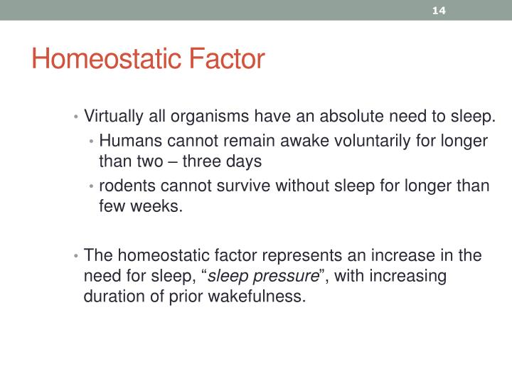 Homeostatic Factor