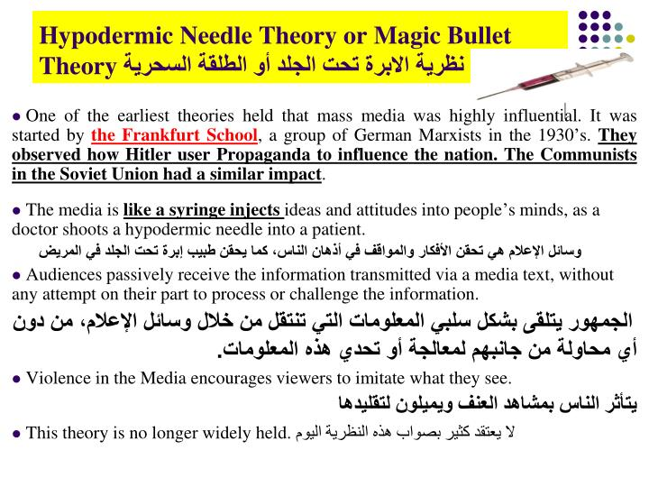 magic bullet theory analysis The magic bullet in the jfk assassination  neutron activation analysis  if dna from both of these individuals is not on the magic bullet, then that theory is .