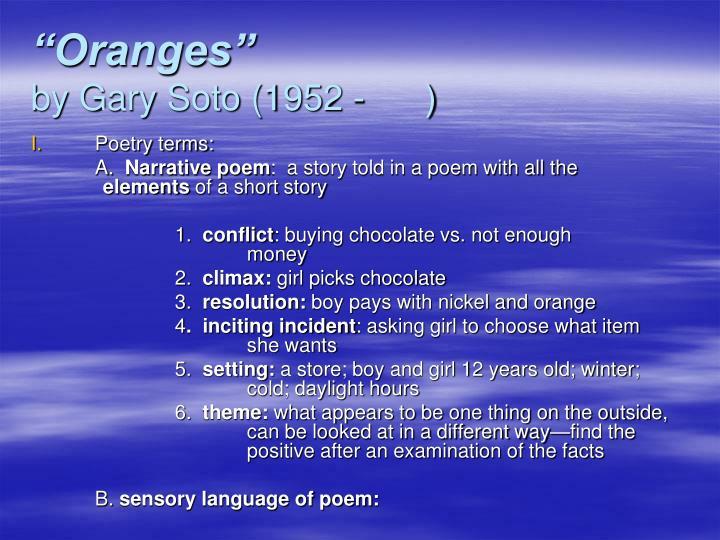 """""""Oranges"""""""