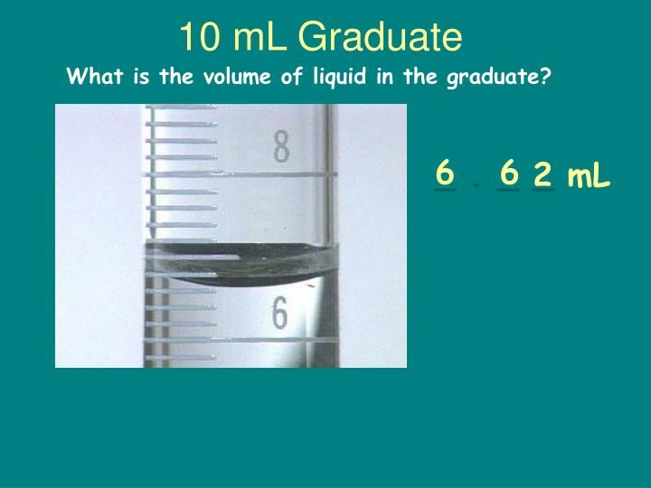 10 mL Graduate