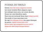 poema de tibulo