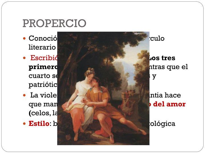 PROPERCIO