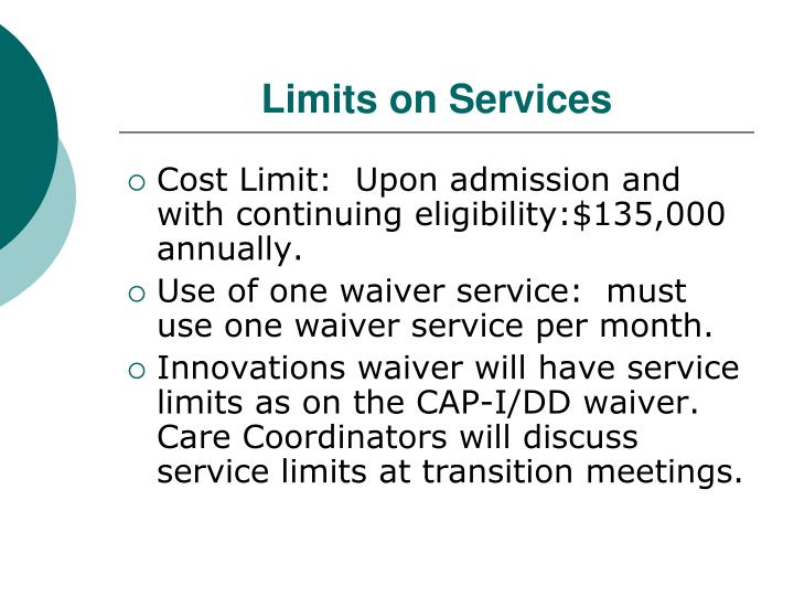 Limits on Services