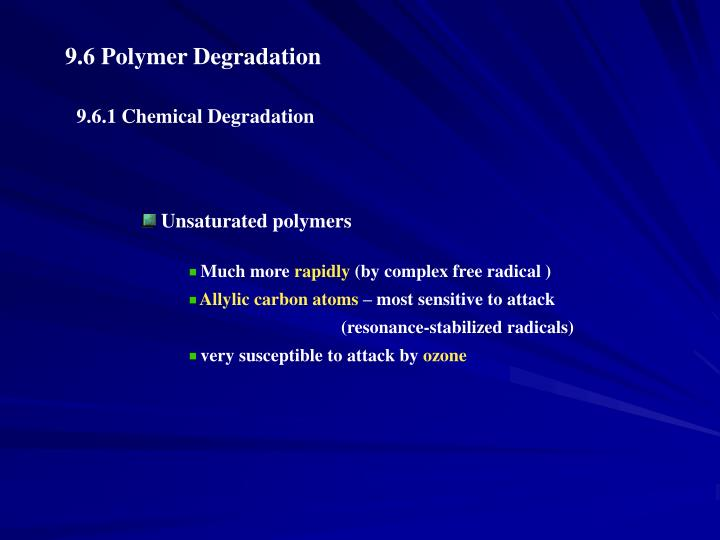 Unsaturated polymers