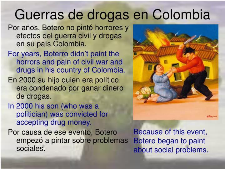 Guerras de drogas en Colombia