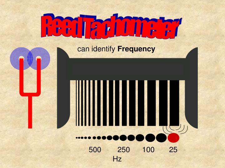Reed Tachometer